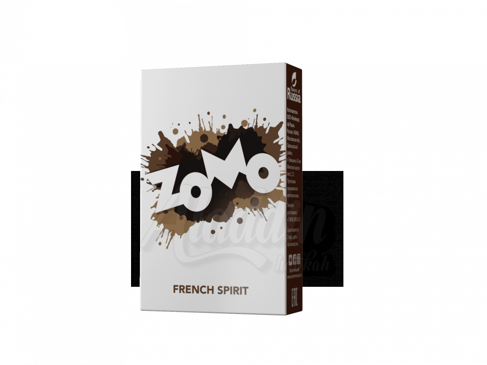 Табак для кальяна Zomo 50гр French Spirit - Коньяк